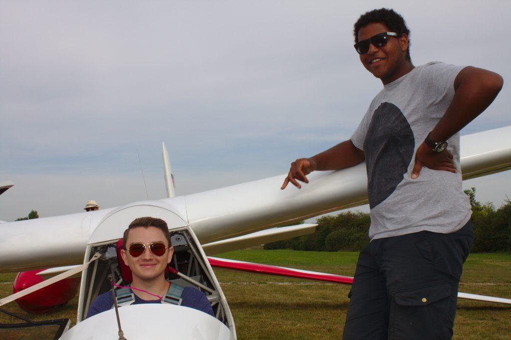Vorentscheid zum Jugendvergleichsfliegen in Heppenheim