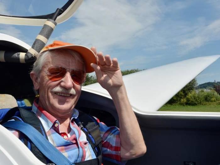 seit 50 JAHREN Fluglehrer!